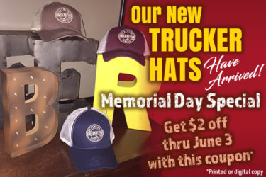 CBB Trucker Hats Are Here!