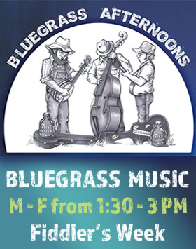 Afternoon Bluegrass During Fiddler's Week