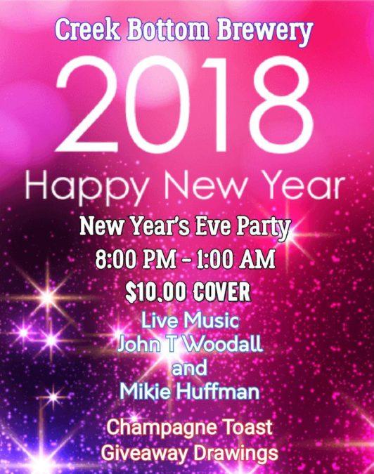 New Year's Eve At Big B!