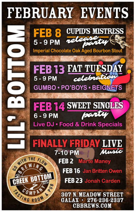 Upcoming Events at Lil' B