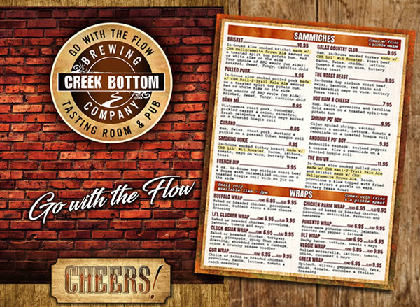 New Menu at Lil' Bottom