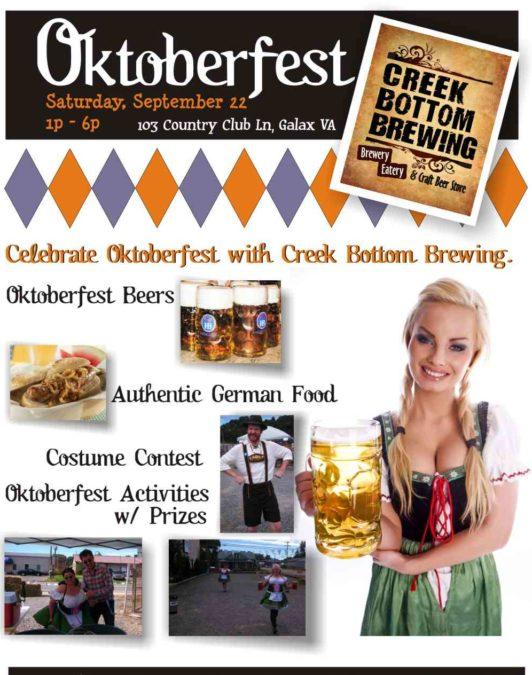 Oktoberfest Is Back!!!