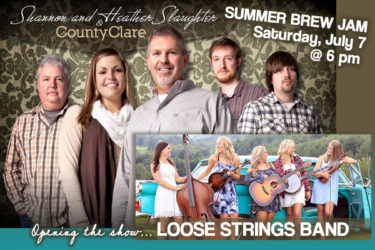 DISCOUNTED TICKETS END TONIGHT! Summer Brew Jam Tomorrow at Big Bottom