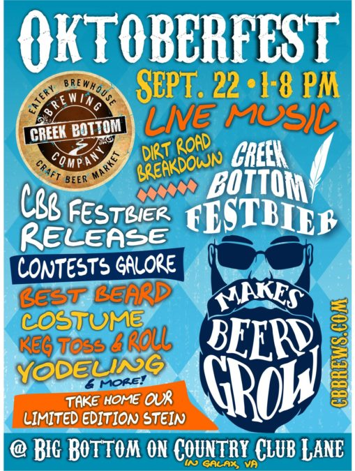Oktoberfest Celebration + CBB Festbier Release!