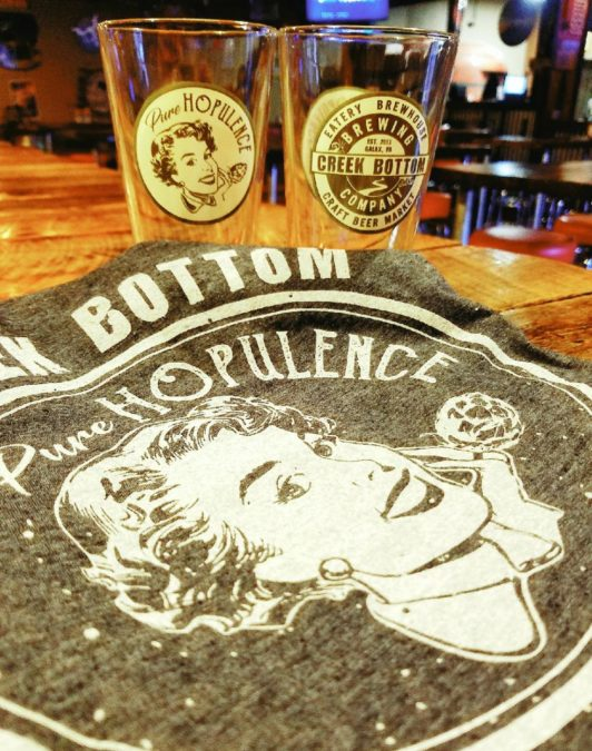 New T-Shirts And Pint Glasses Are Here – Pure Hopulence!