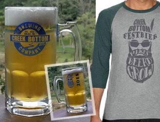 Limited Edition Stein Mugs, Raglan T-Shirts, and CBB FestBier!