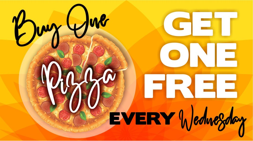 BOGO Pizza Day!