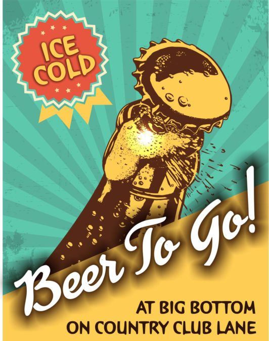 To-Go Beer At Both Locations Now!
