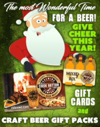 Making Spirits Bright with Gift Cards & Mixed Craft Beer Packs